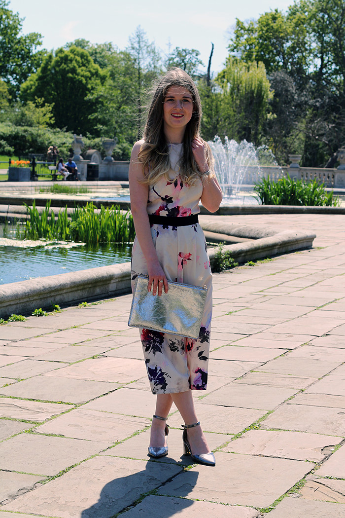 floral jumpsuit little mistress fashion bloggers