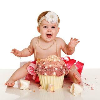 Gambar Bayi Cantik dan Imut Ulang Tahun