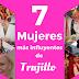 Esta son las 7 mujeres más influyentes de Trujillo