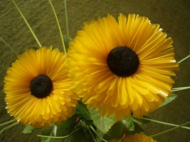 Cara Membuat Bunga Matahari Dari Kantong Kresek