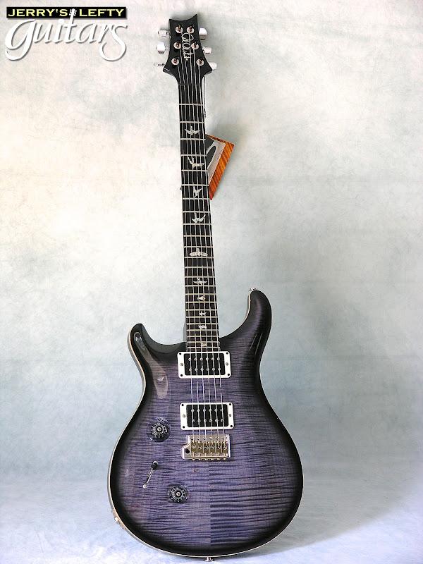 jerry 39 s lefty guitars newest guitar arrivals updated weekly prs custom 24 purple hazel left. Black Bedroom Furniture Sets. Home Design Ideas