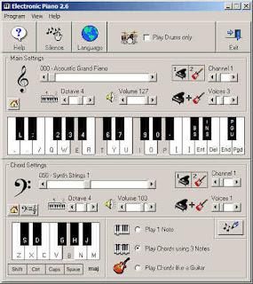 ¡Toca cualquier instrumento musical con el teclado de tu pc!