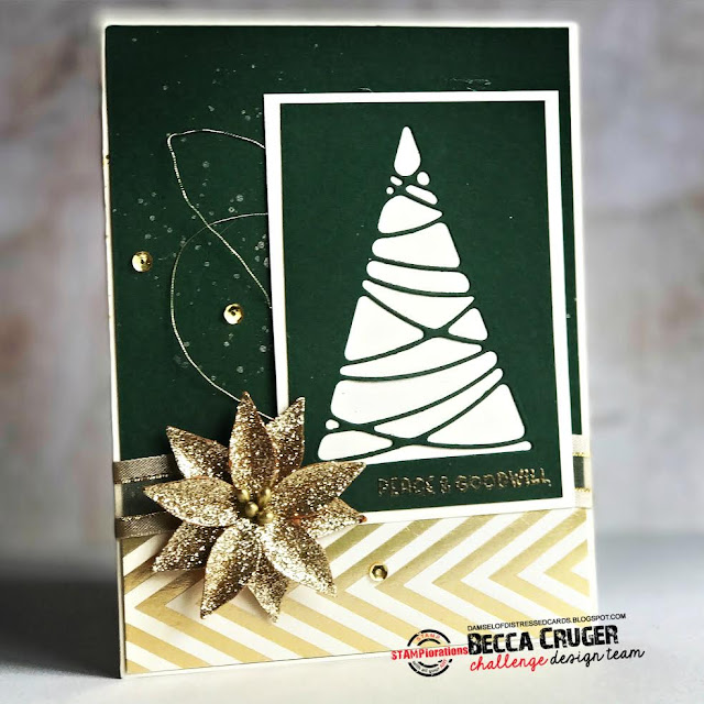 christmas_tree_die_cut_mixed_media_stamped_card