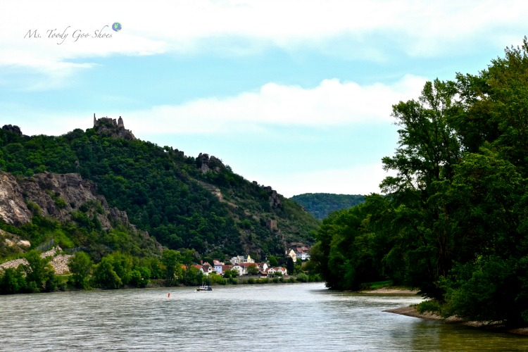 The Wachau Valley is the most scenic stretch along the Danube River | Ms. Toody Goo Shoes #wachauvalley #danuberivercruise #austria