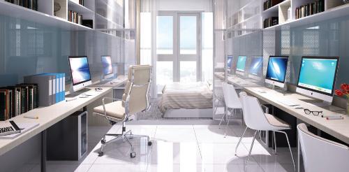Office-tel khu Thủ Thiêm ưu đãi thanh toán 1,5% mỗi tháng