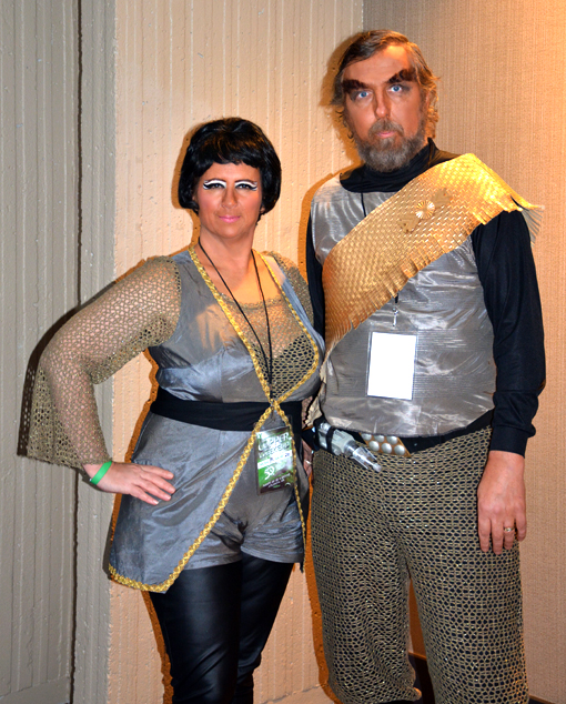 Original Series Klingons, they're AWESOME  | Trek Con 50 Anniversary