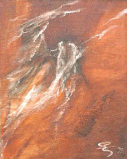 41 - De belevenis - © Edith Smets - 80/100 - olie op doek
