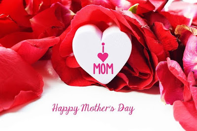 i love my mom greeting card happy mothers day