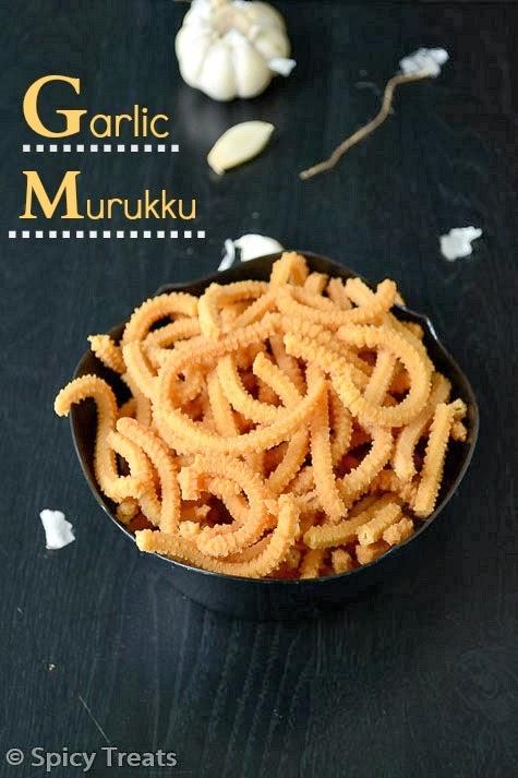Garlic Murukku