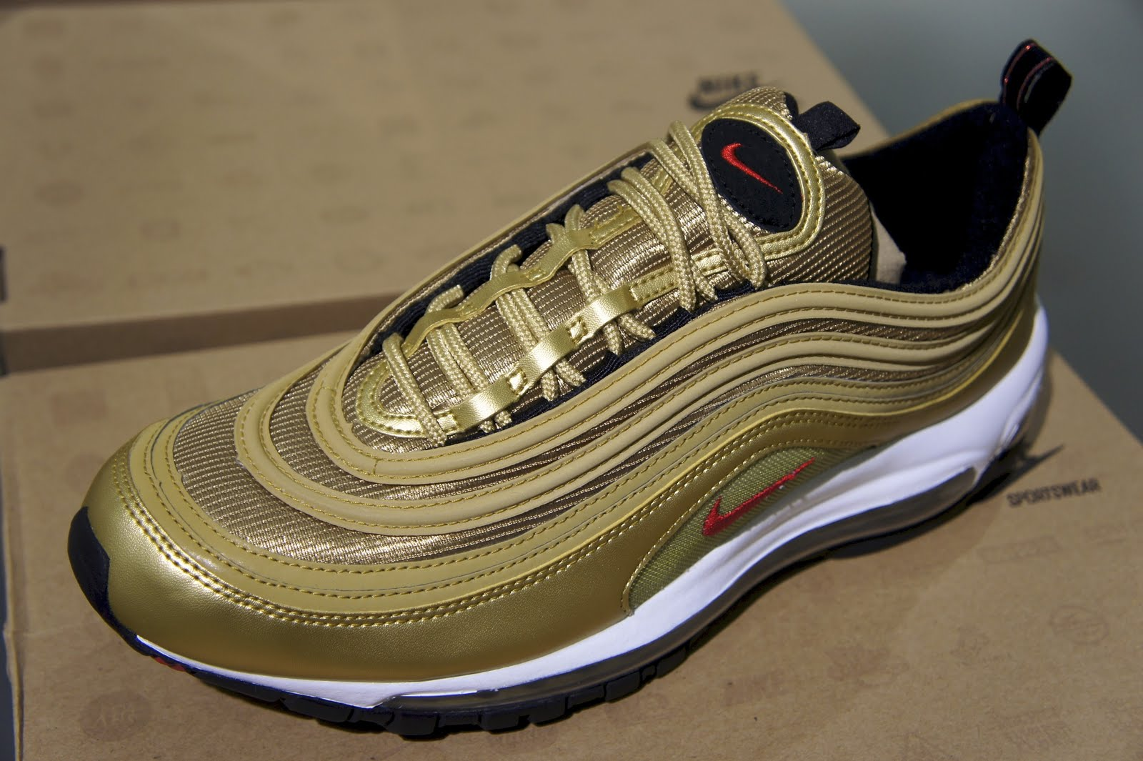 Cheap Nike Air Max 97 Metallic Gold Dead Stock Sneakerblog