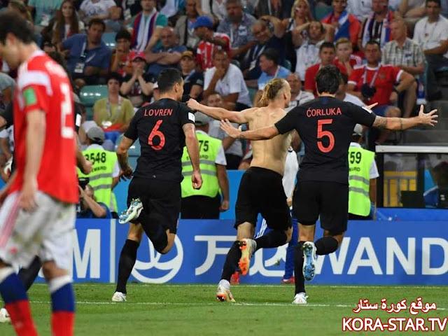 منتخب كرواتيا كأس العالم 2018