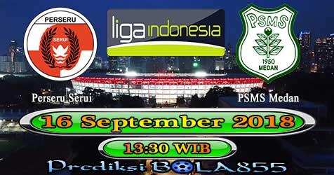 Prediksi Bola855 Perseru Serui vs PSMS Medan 16 September 2018