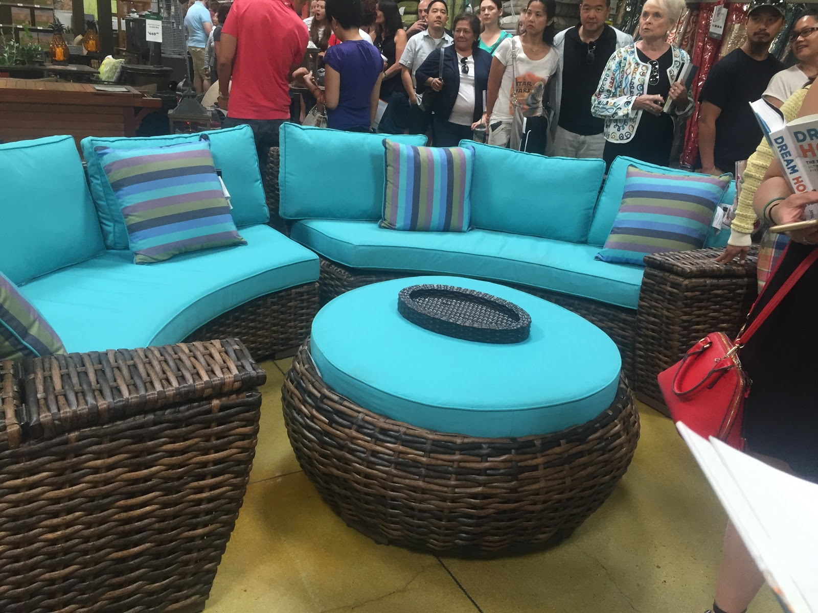 The Property Brothers Debut Scott Living Furniture At Orchard Supply  Hardware U2013 San Jose