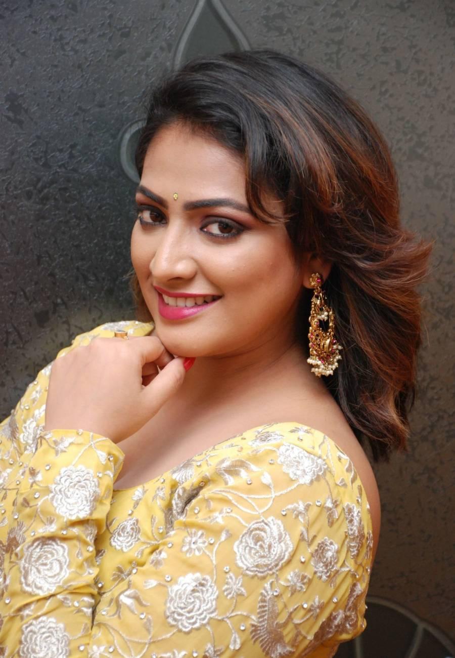 Tamil Actress Haripriya At Kannad Gothilla Film Audio Release