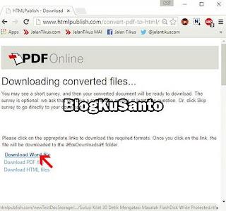 Cara Ubah PDF Ke Word