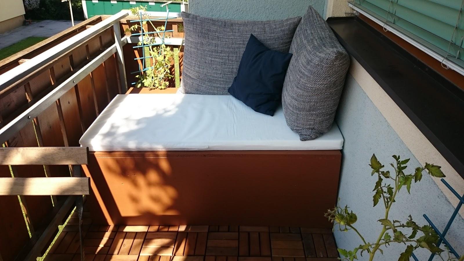 kreanista - die ideenbox: diy couch für den balkon