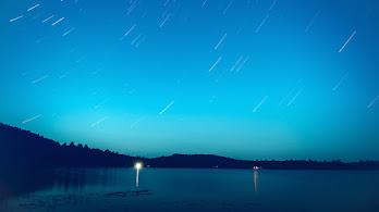 Night, Sky, Lake, Scenery, 8K, #4.1932