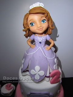 disney sofia princess cake