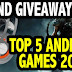 Top 5 Android games released in September 2016