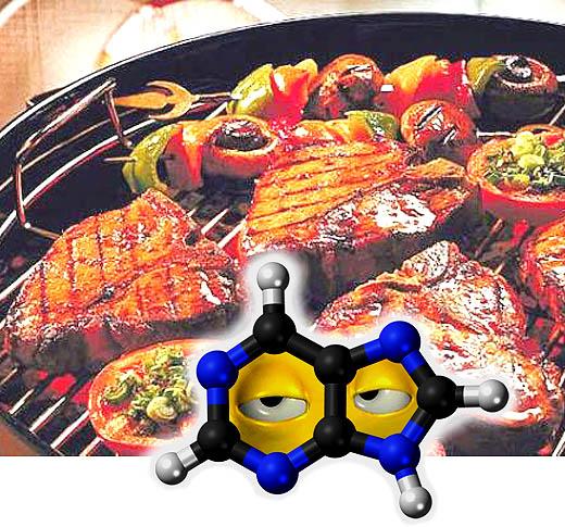 Purin memicu tingginya kadar asam urat