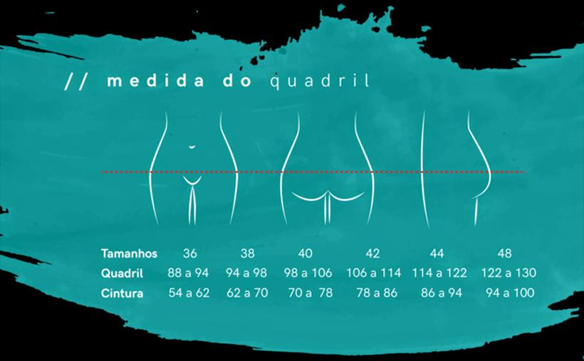 Tamanhos da calcinha absorvente da Herself: auxílio para mulher viajante - Foto: Divulgação