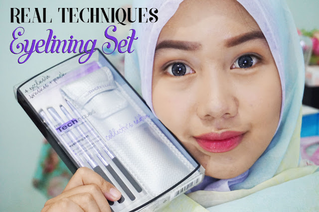 Real Techniques, Real Techniques Brush, Eyelining Set, Review, Leeviahan Youtube, Brush Makeup, Brush Makeup, Makeup Brush, Kuas Makeup, Indonesian Beauty Vlogger Indonesia, Real Techniques Indonesia