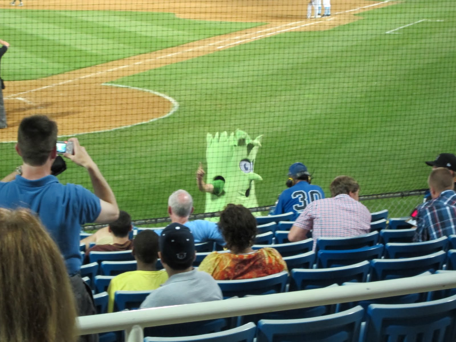 7c25afa963eb5e He reminds me of my beloved Delaware Blue Rocks' equally as brilliant  mascot - CELERY!!!