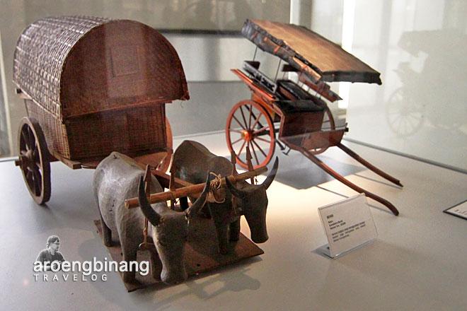 museum nasional indonesia miniatur pedati