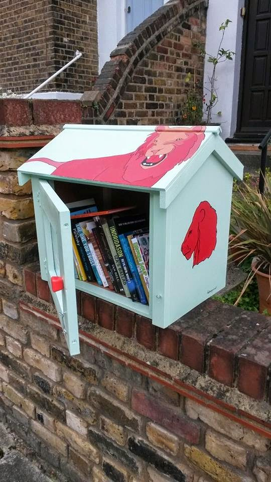 Little Free Library Project Uk London S Little Free Libraries