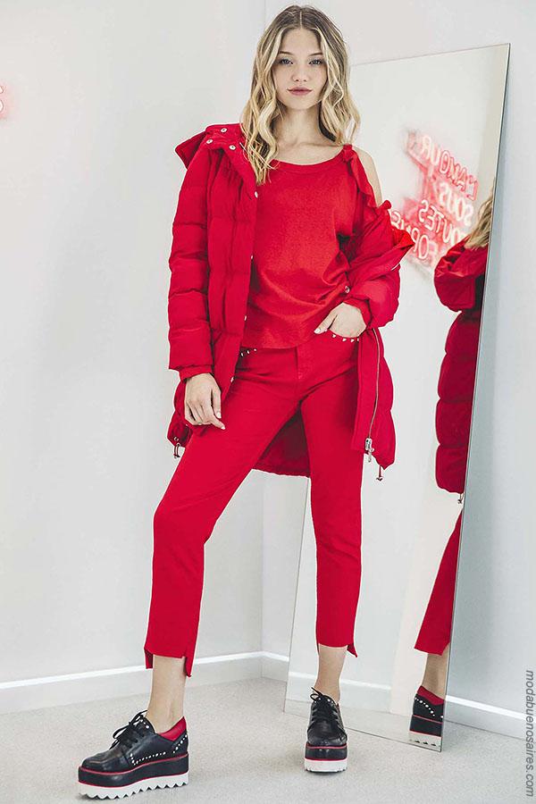 Moda mujer otoño invierno 2018 ropa de moda.