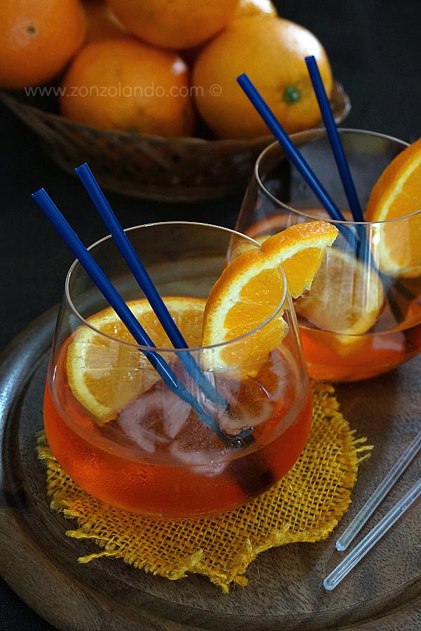Come preparare lo spritz aperol in casa aperitivo ricetta