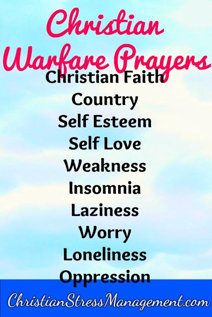 Christian Warfare Prayers Volume 3