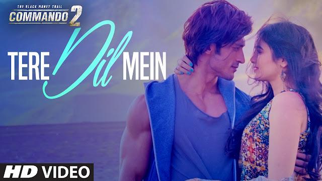 tere dil mei songs lyrics in hindi