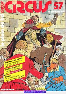 Revue Moderne, Circus, mensuelle de 100 pages, 1982 à 1983