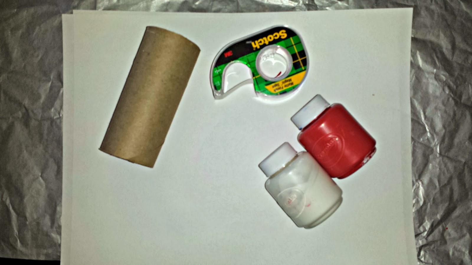 Diy Heart Stamp Using Toilet Paper Rolls Kids Valentines