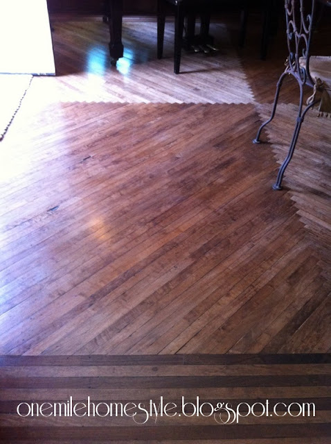 66 Center Street-wood floors
