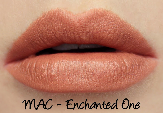 MAC Monday | Alluring Aquatics - Enchanted One Lipstick Swatches & Review