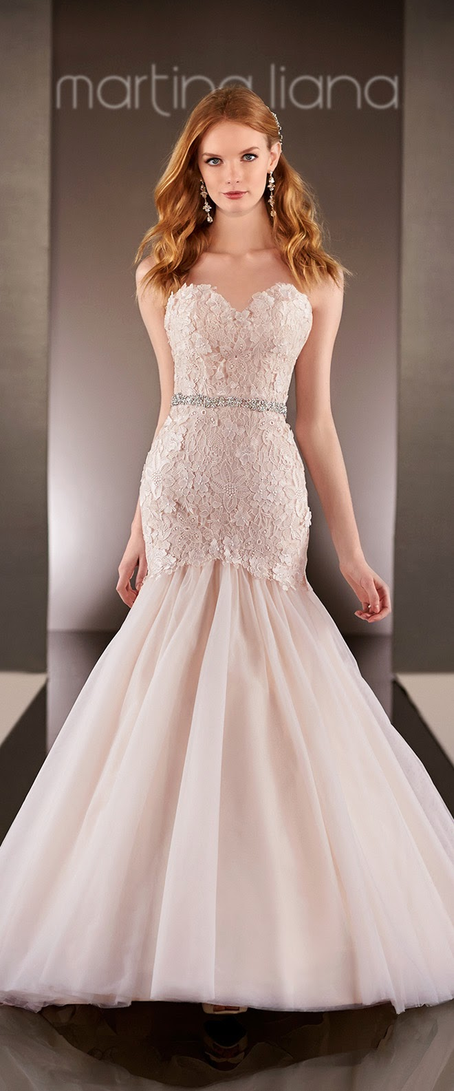 Martina liana spring 2015 bridal collection belle the for Wedding dresses in michigan