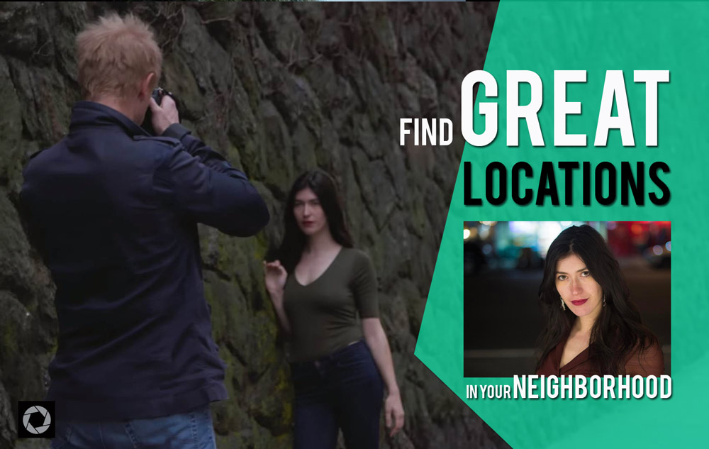 5 Great Portrait Photography Locations You Can Find Right Outside Your Door