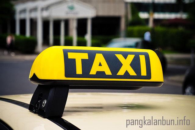 taxi online di pangkalan bun