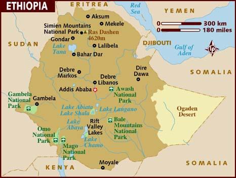 Ethiopia Facts In Hindi