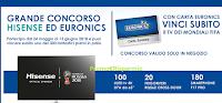 Logo Euronics Big Match: vinci 100 Uled TV 65'', 20 Frigoriferi e 180 Smartphone