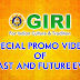 Special Promo video of GIRI past and future events
