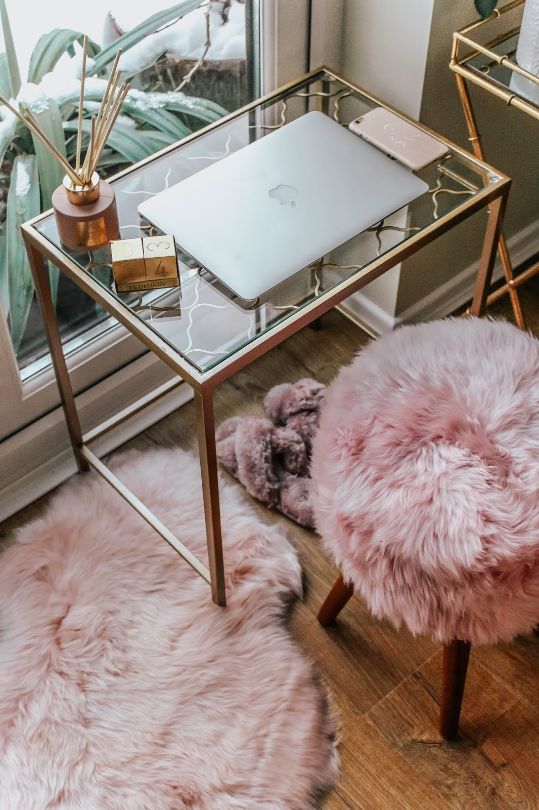 Luxury Interiors Blog Pretty Pink Home Office