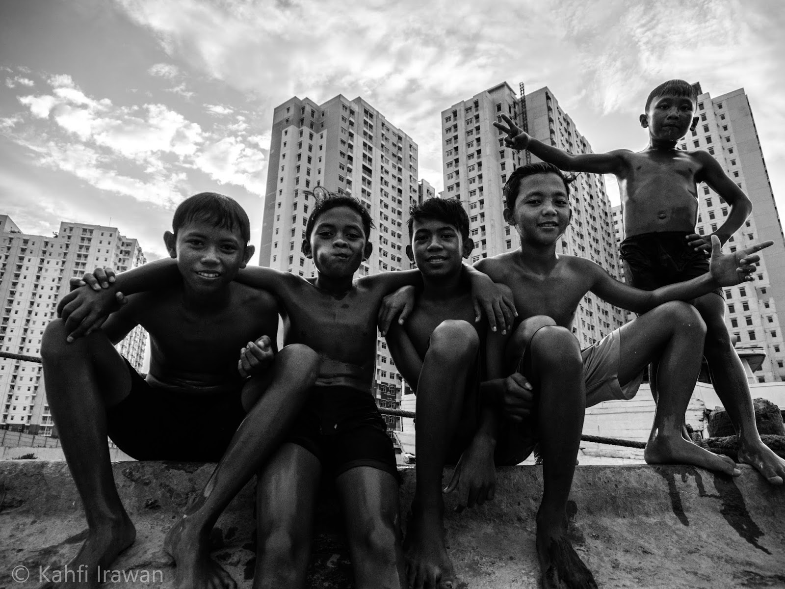 Merekam Jakarta dalam bingkai Hitam Putih