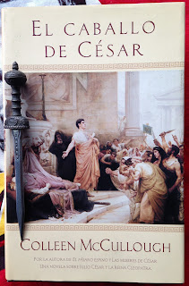 Portada del libro El caballo de César, de Colleen McCullough