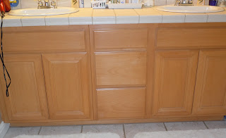 Em S Crafty Chronicles Bathroom Cabinet Refinish