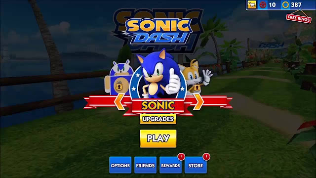 sonic dash download apk