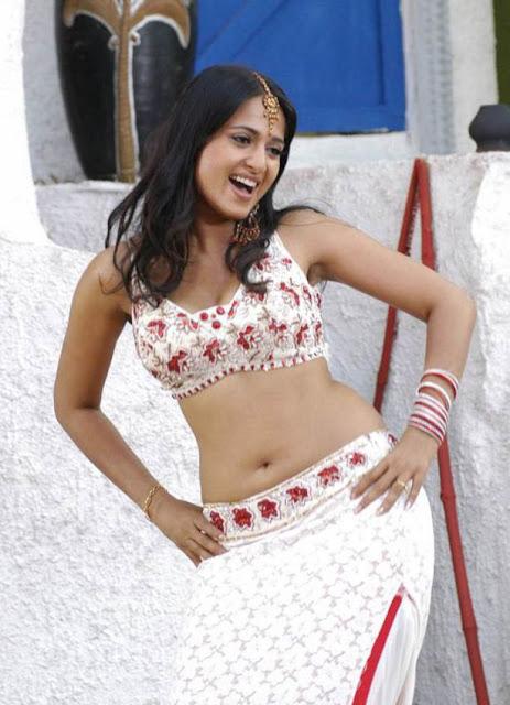 Anushka shetty deep navel