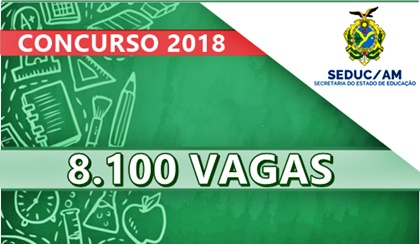 Concurso SEDUC-AM 2018 Amazonas